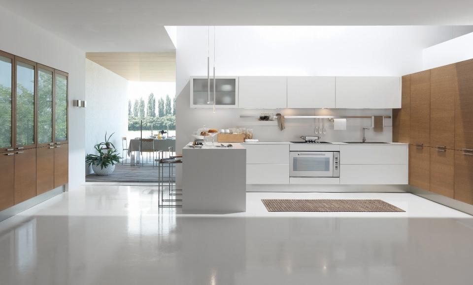 Cucine moderne color panna - Cucina color panna ...